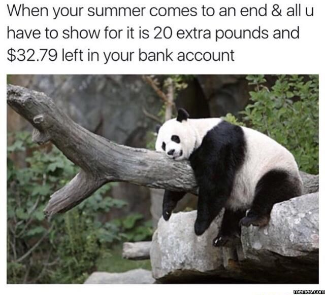 nice When your summer comes to an end