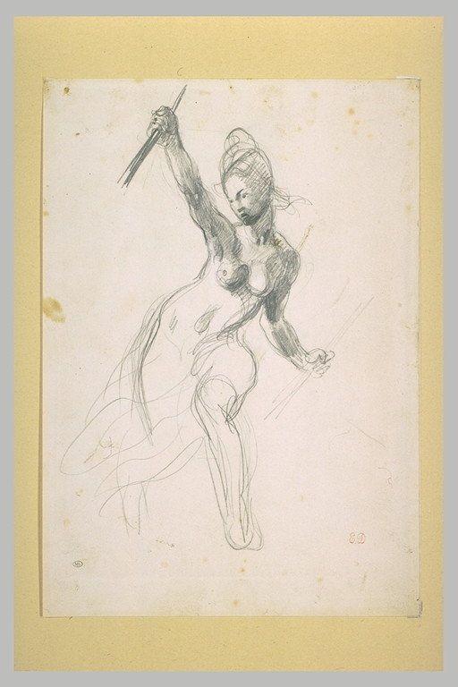 Épinglé sur Eugène Delacroix (1798 1863), Romantiker.