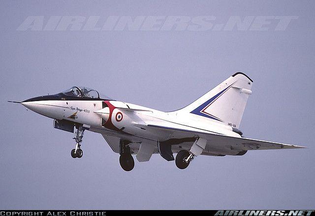 Dassault Mirage 4000 aircraft picture