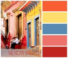 Love This Soft Mexican Color Palette Pinteres Mexican