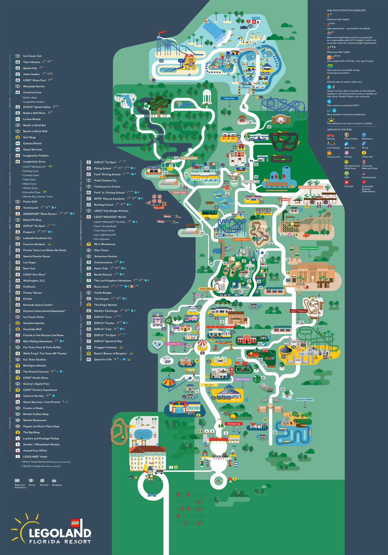 014_7942 | Legoland florida map, Legoland florida, Map of ...