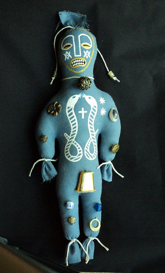 Hey, I found this really awesome Etsy listing at http://www.etsy.com/listing/108967237/voodoo-hoodoo-art-doll-damballah-wedo
