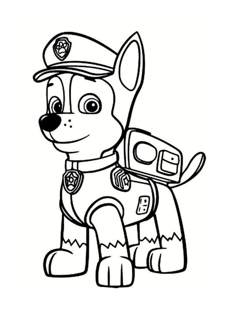 Resultat De Recherche D Images Pour Dessin A Imprimer Paw Patrol Coloring Pages Paw Patrol Coloring Chase Paw Patrol Coloring Pages
