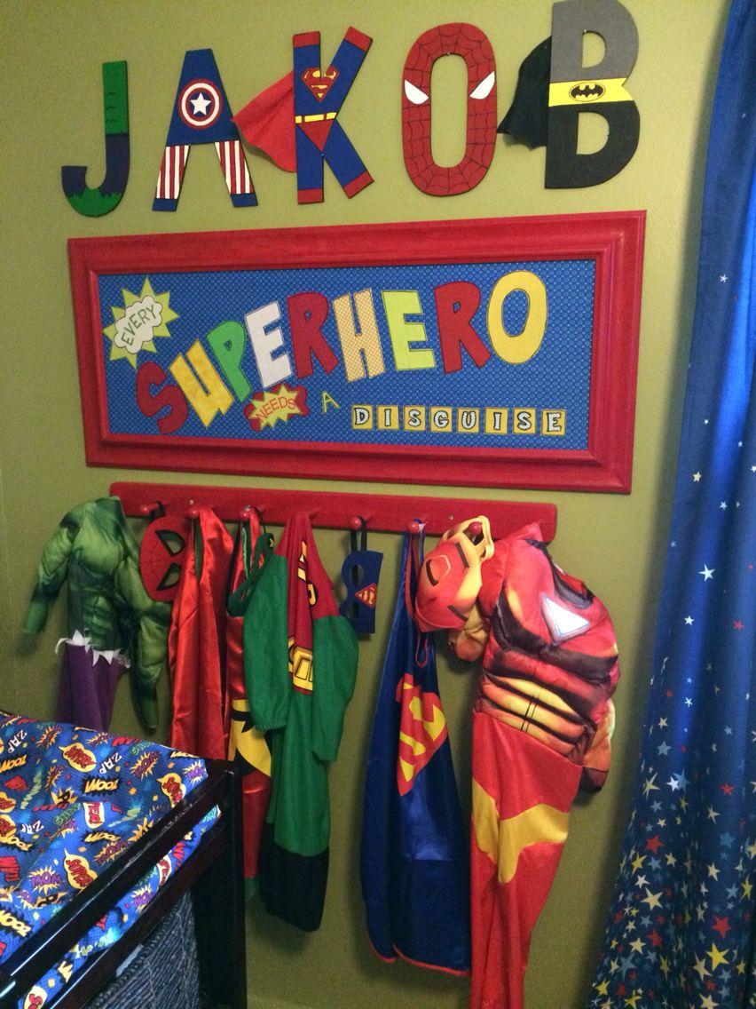 Superhero Room Design: Superhero Room, Spiderman Bedroom