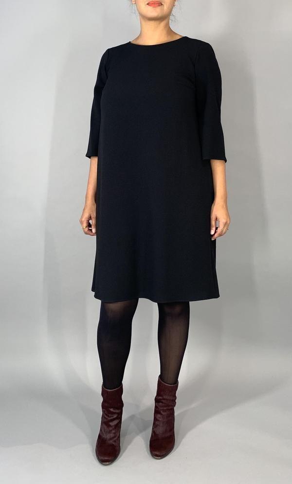 Elegantes ausgestelltes Kleid - Schwarz in 2020 ...