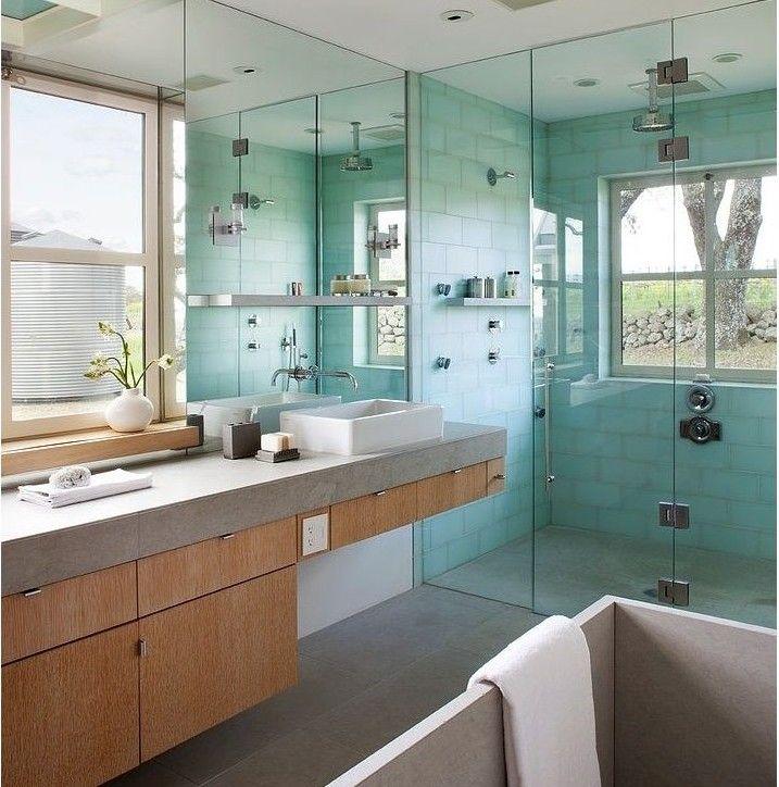 Decoración De Interiores 2019 60 Imágenes Ideas Y Consejos: Decoracion Baños Con Ventana