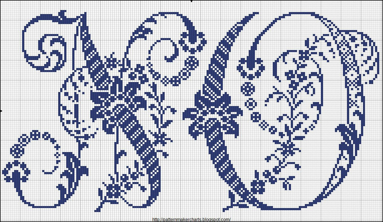 Cruz easy free pattern maker gráficos pcstitch