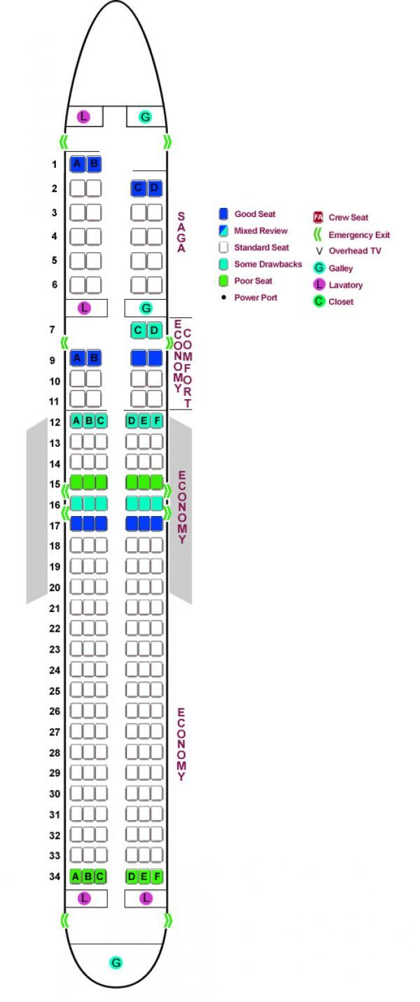 Best Fares On Business Class And First Classtravel Chart Seating Charts Iceland Air