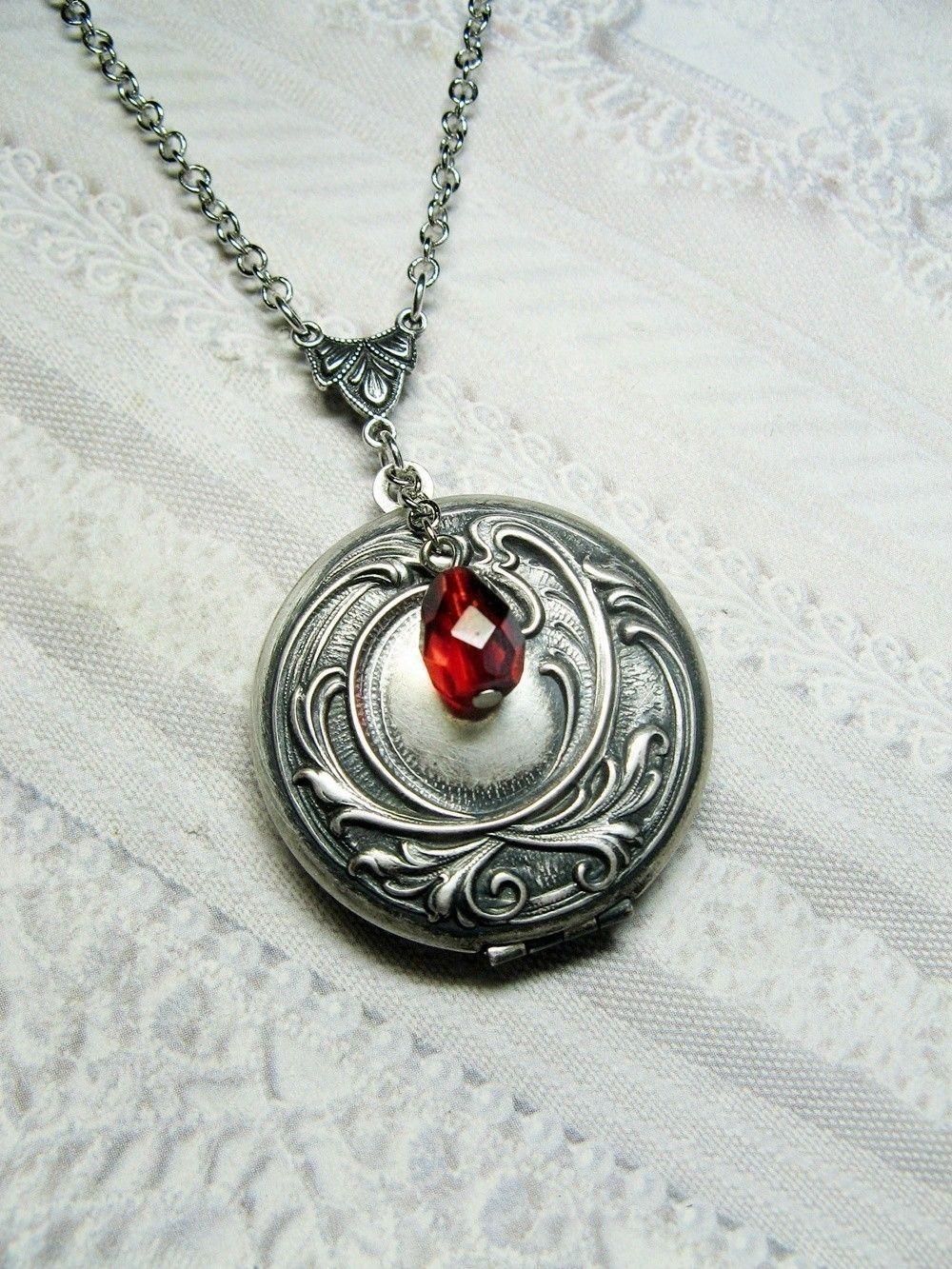 The Vampire Diaries Elena Vervain Pendant Necklace Jewelry Gift