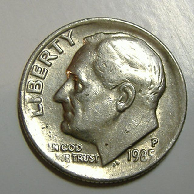 1943 Lincoln Wheat Cent : Bronze/Copper