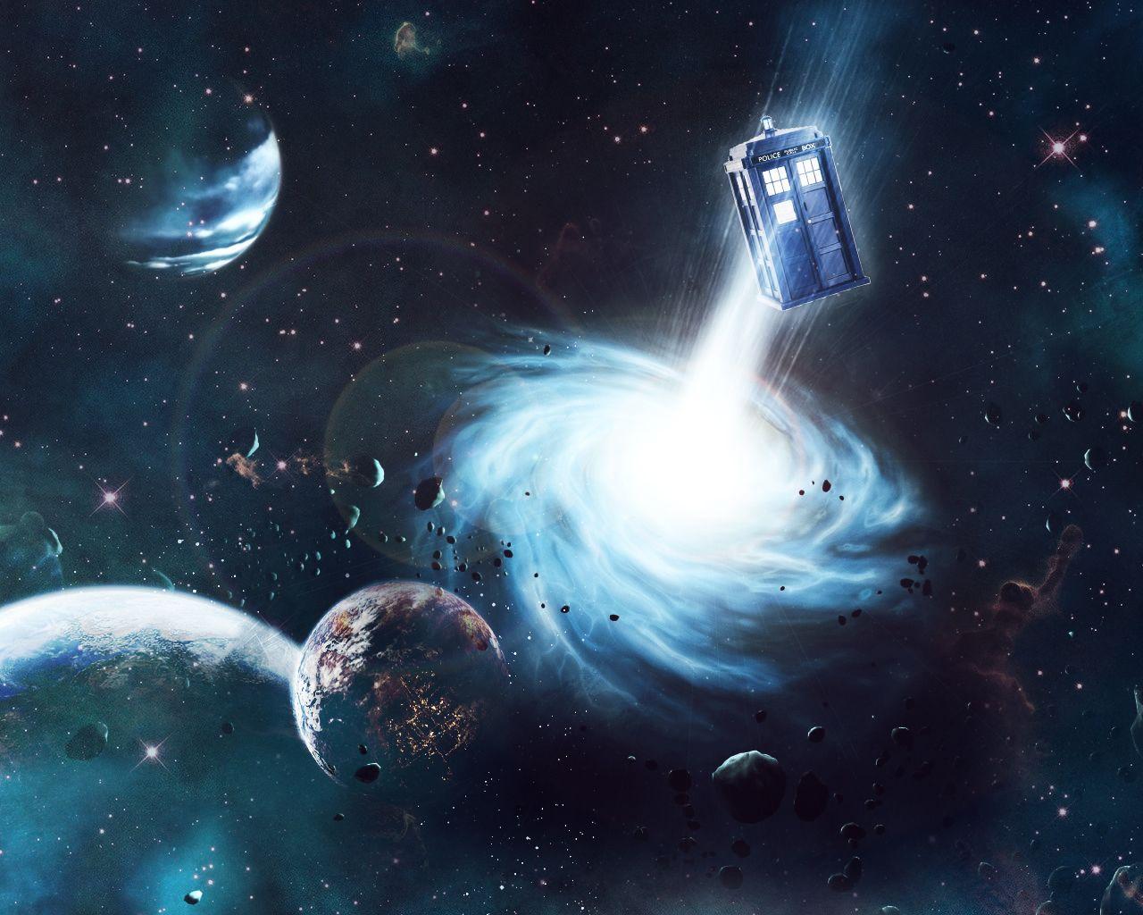 TARDIS In Space Wallpaper By Carnagebgdeviantart On DeviantArt