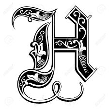 Image Result For H Fancy Letters Lettering Alphabet Fonts Tattoo Lettering Fonts