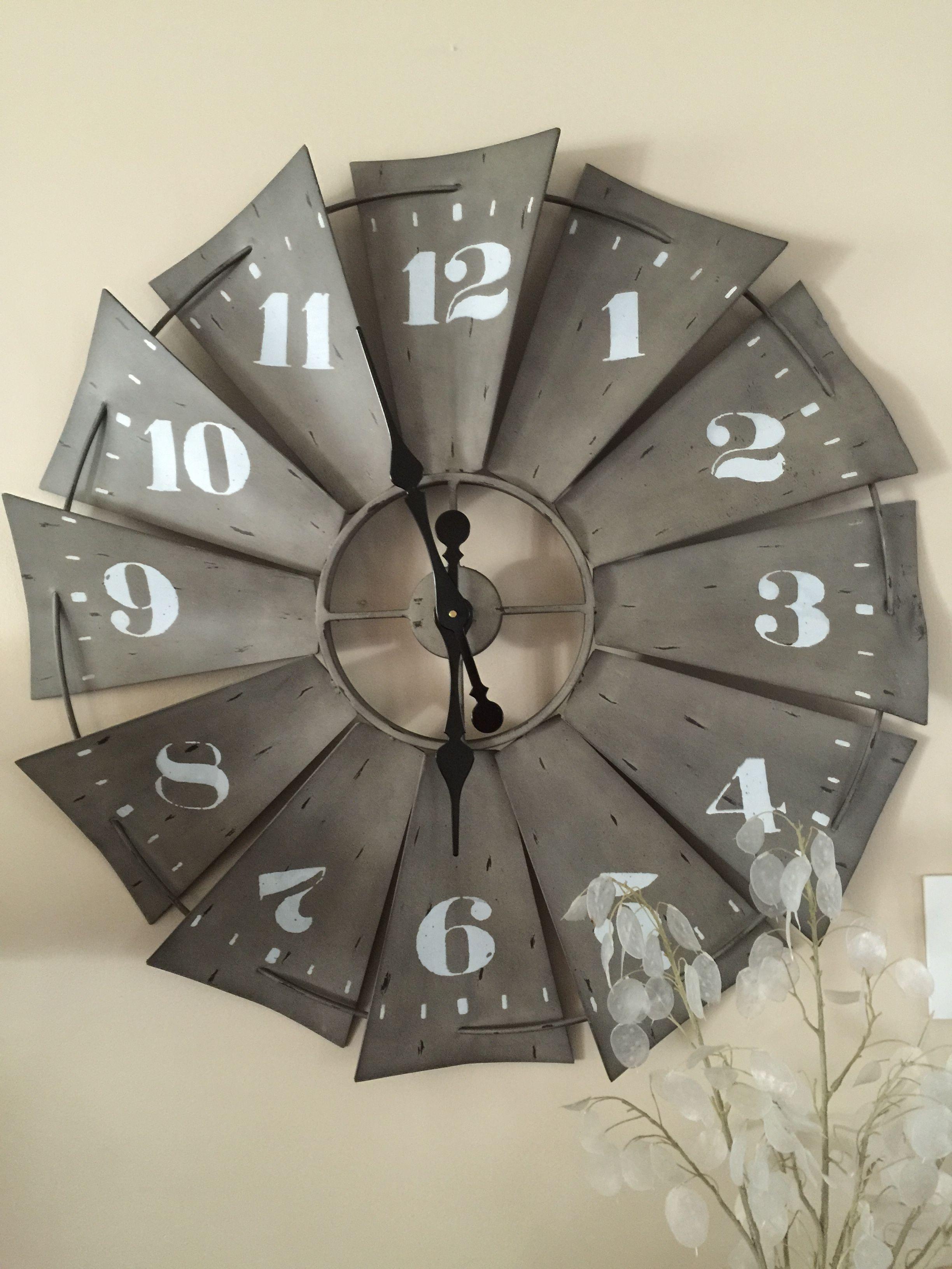 Windmill Clock Windmill Clock Home Decor Furniture Home Decor