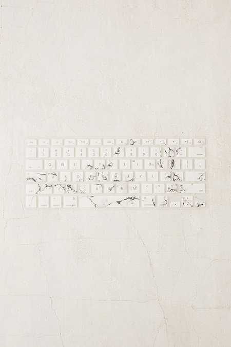 White Marble Keyboard Cover Keyboard Cover Marble