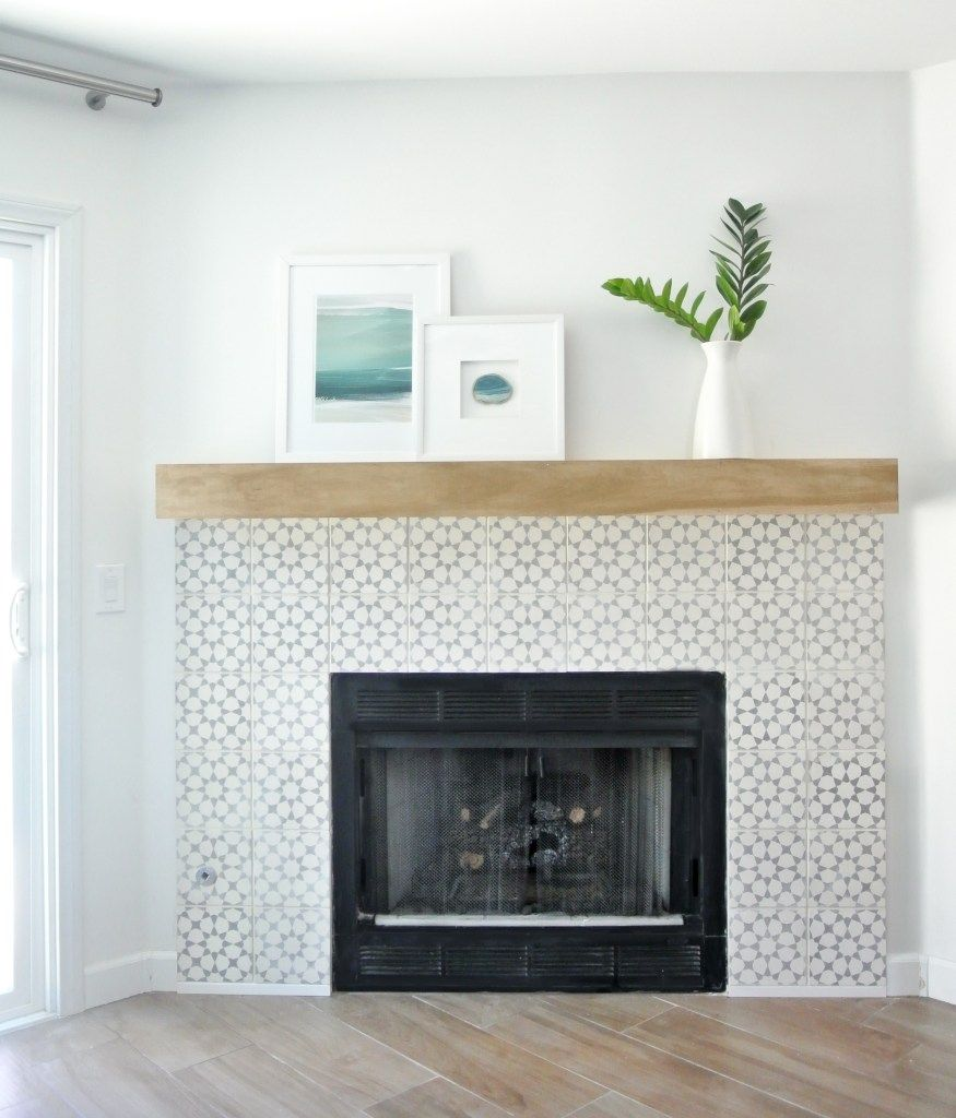 DIY Fireplace Makeover (With images) Diy fireplace