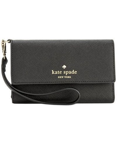 premium selection c2bf3 019fe Designed in Saffiano leather with a slender strap, this kate spade ...