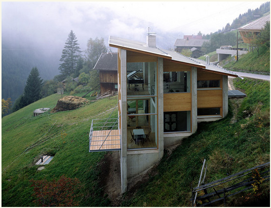 Austrian Exposed House On A Hill Architecture 25 Beautiful