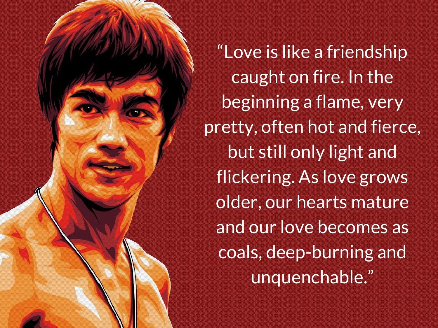 About Love Bruce Lee Quotes Love People Quotes Inspiring Quotes About Life