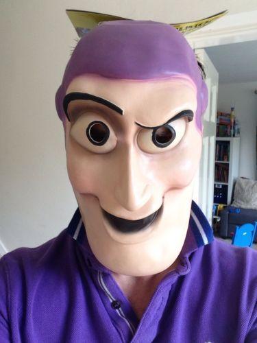 One Size Toy Story Buzz Mask Pink//Purple