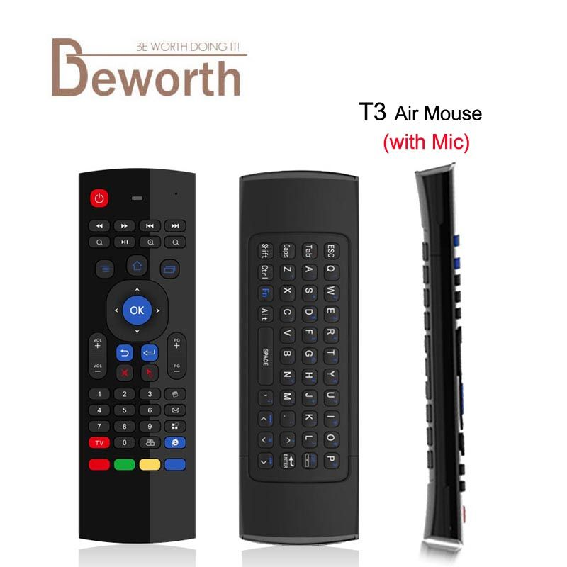 Compare Prices T3 Mic 2 4g Fly Air Mouse With Microphone T3 M Mini