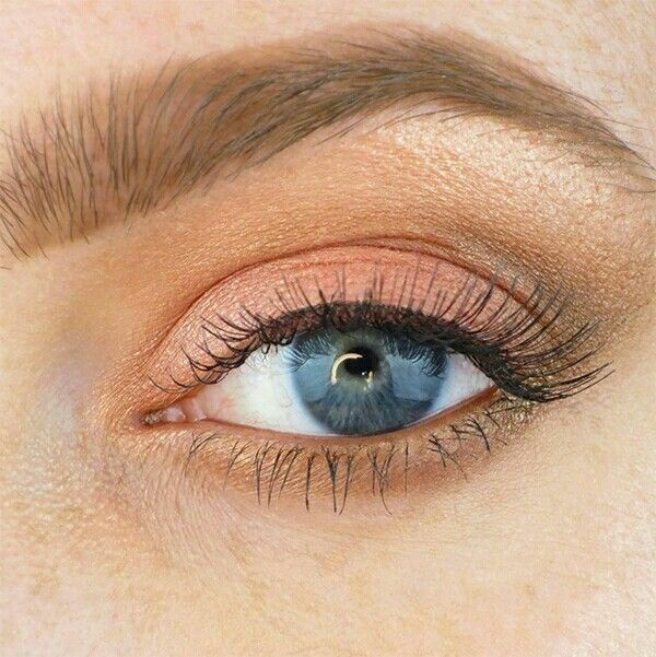 Gold Peach Eyeshadow Combo Beauty Pinterest Peach Eyeshadow