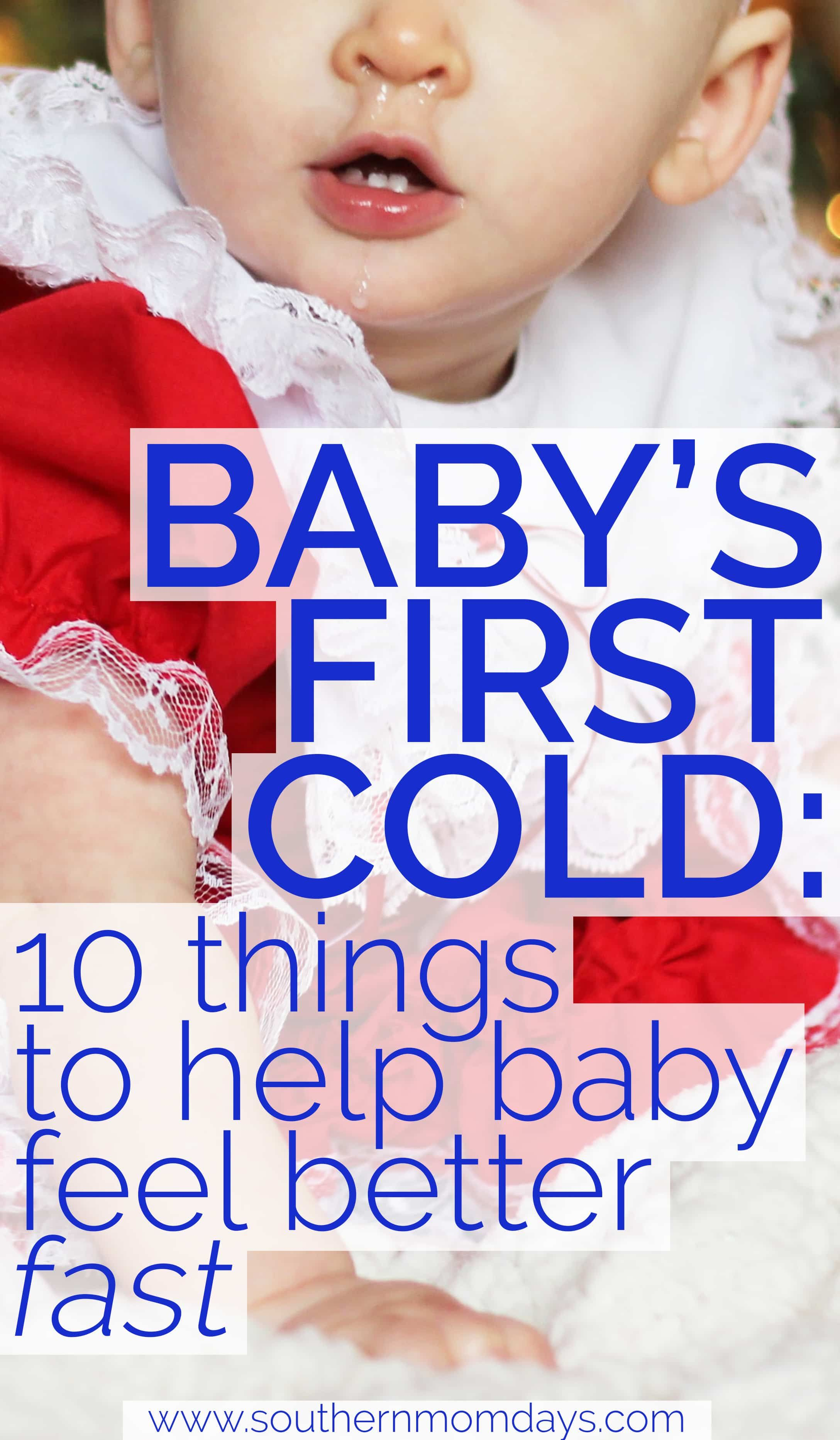 Baby S First Cold Kit How To Help Baby Feel Better Fast Sick Baby Remedies Sick Baby Baby Cold Remedies