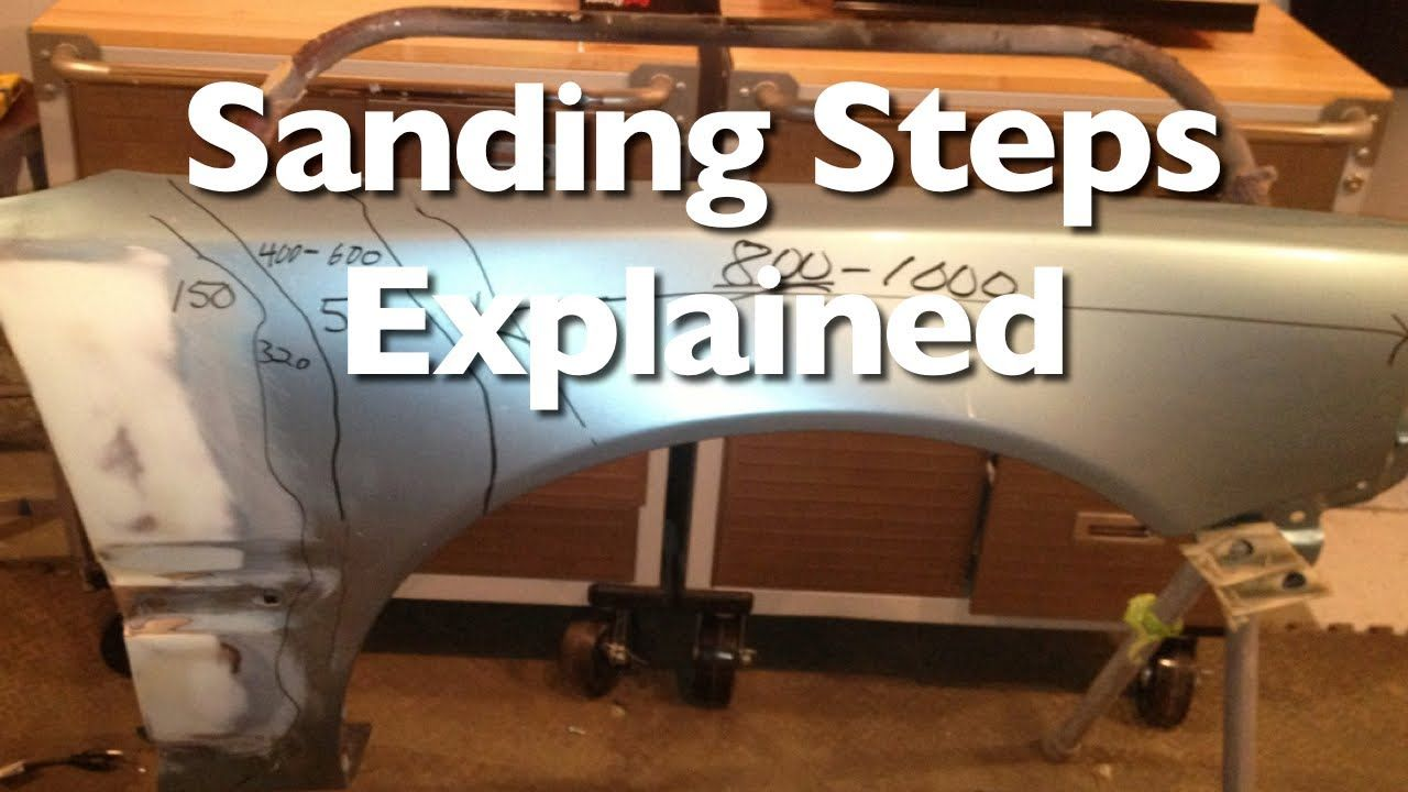 Sanding and Prepping Steps Explained Auto body work