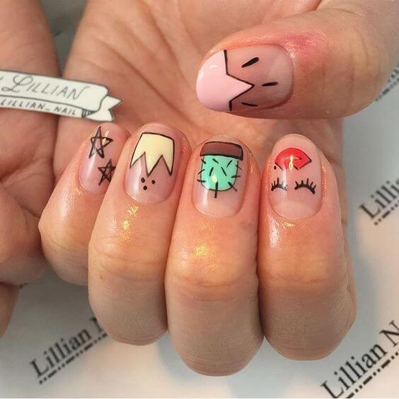 Pin by Uñas Decoradas - Nailart on Uñas para niñas | Pinterest ...