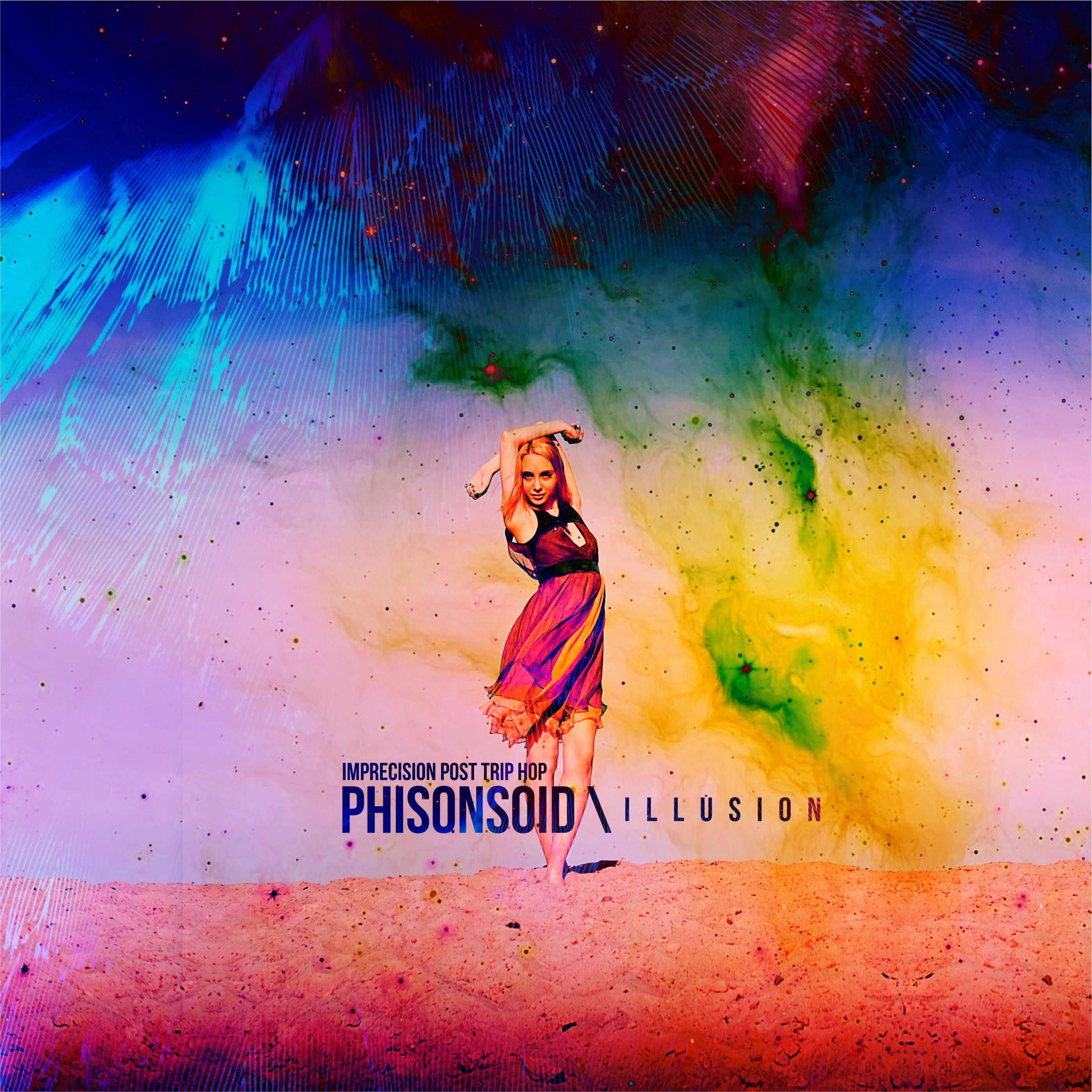 Дизайн обложки для сингла проекта PHISONSOID