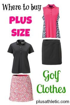 Where to find cute golf clothes in plus sizes It's about more than ...