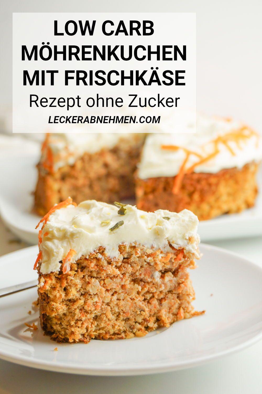 Photo of Low Carb Karottenkuchen Rezept – Zuckerfreier Möhrenkuchen mit Mandelmehl