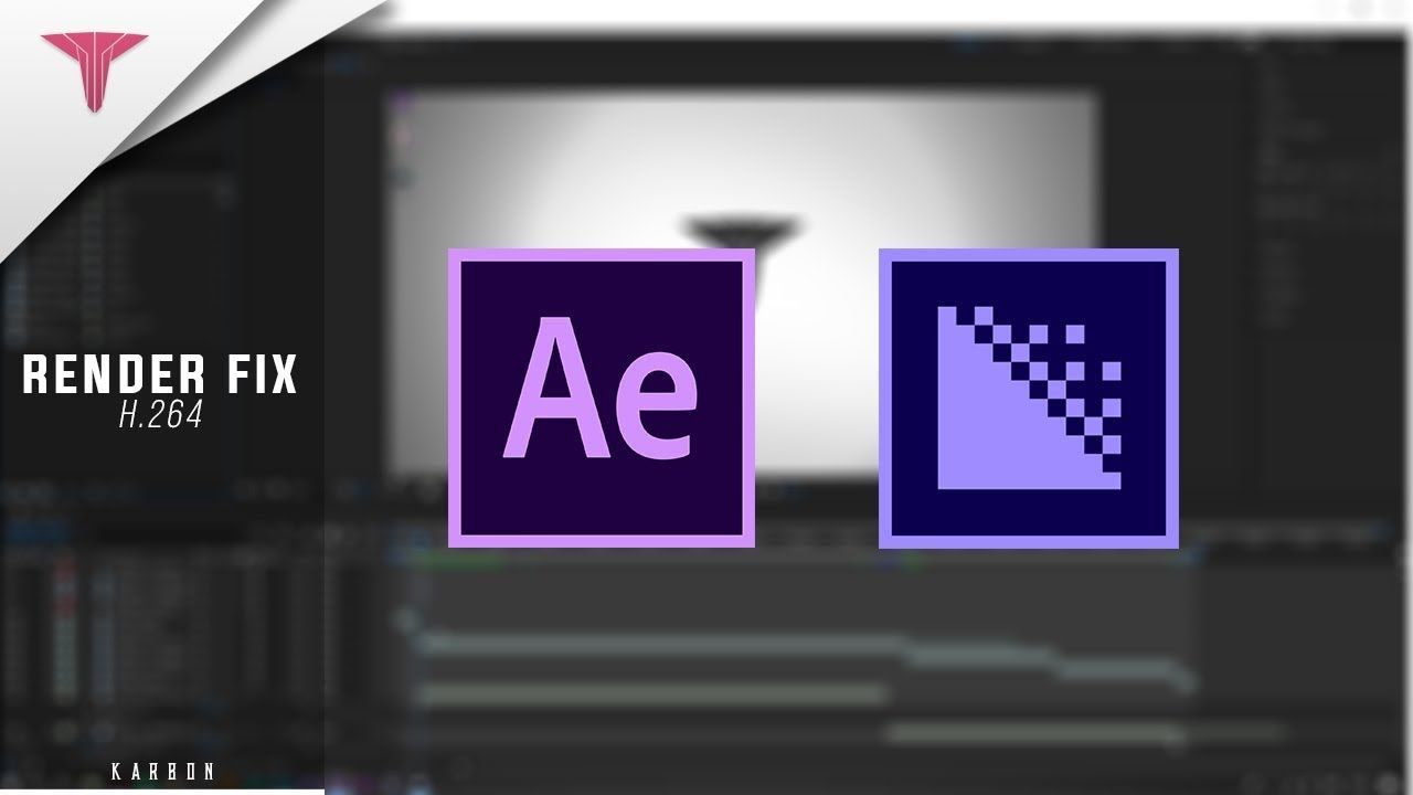 Adobe After Effects H 264 Render Fix 2018 After Effects After