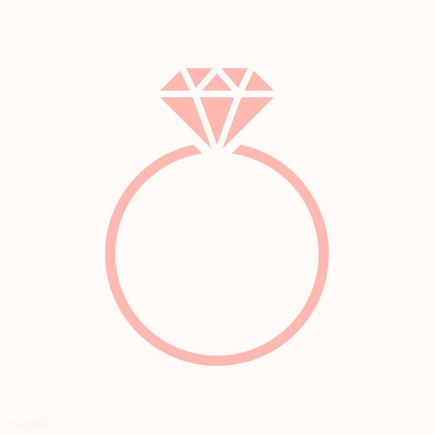Diamond Wedding Ring Graphic Illustration Free Image By Rawpixel Com Manotang Wedding Ring Graphic Wedding Ring Illustrations Wedding Ring Logo