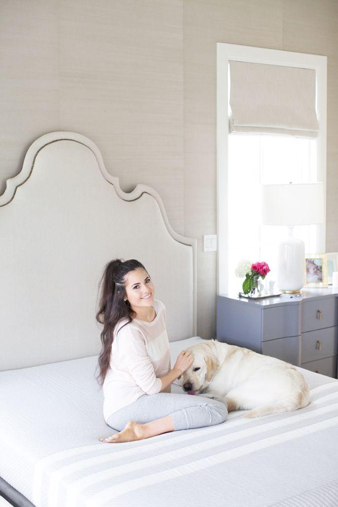 Leesa | Chic summer style, Pink peonies, Bedding master bedroom