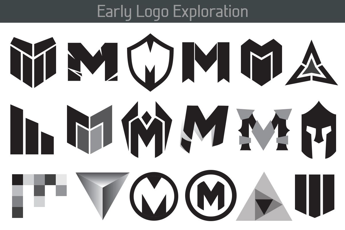 Early Logo Exploration