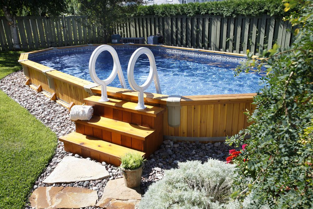Trevi Swimming Pool On Ground In Ground Saunas