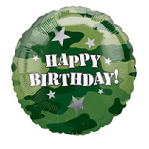 Happy Birthday Soldier With Images Happy Birthday Balloons