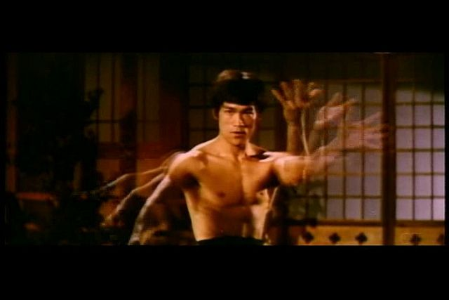 """Bruce Lee in """"Chinese Connection"""" (1972)"""