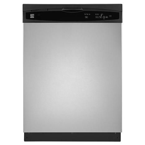 Kenmore 13003 24 Built In Dishwasher Stainless Steel