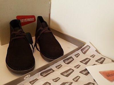 Clarks Original Desert Boot Boy Brown Suede   Kids clothes and Shoes ... 9beda43ac62b