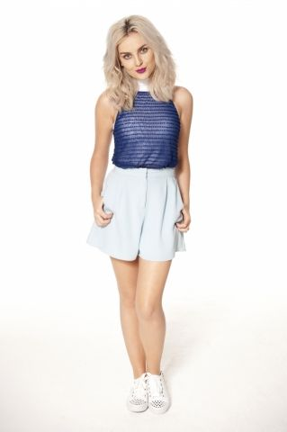 Perrie Edwards Photoshoot Wings