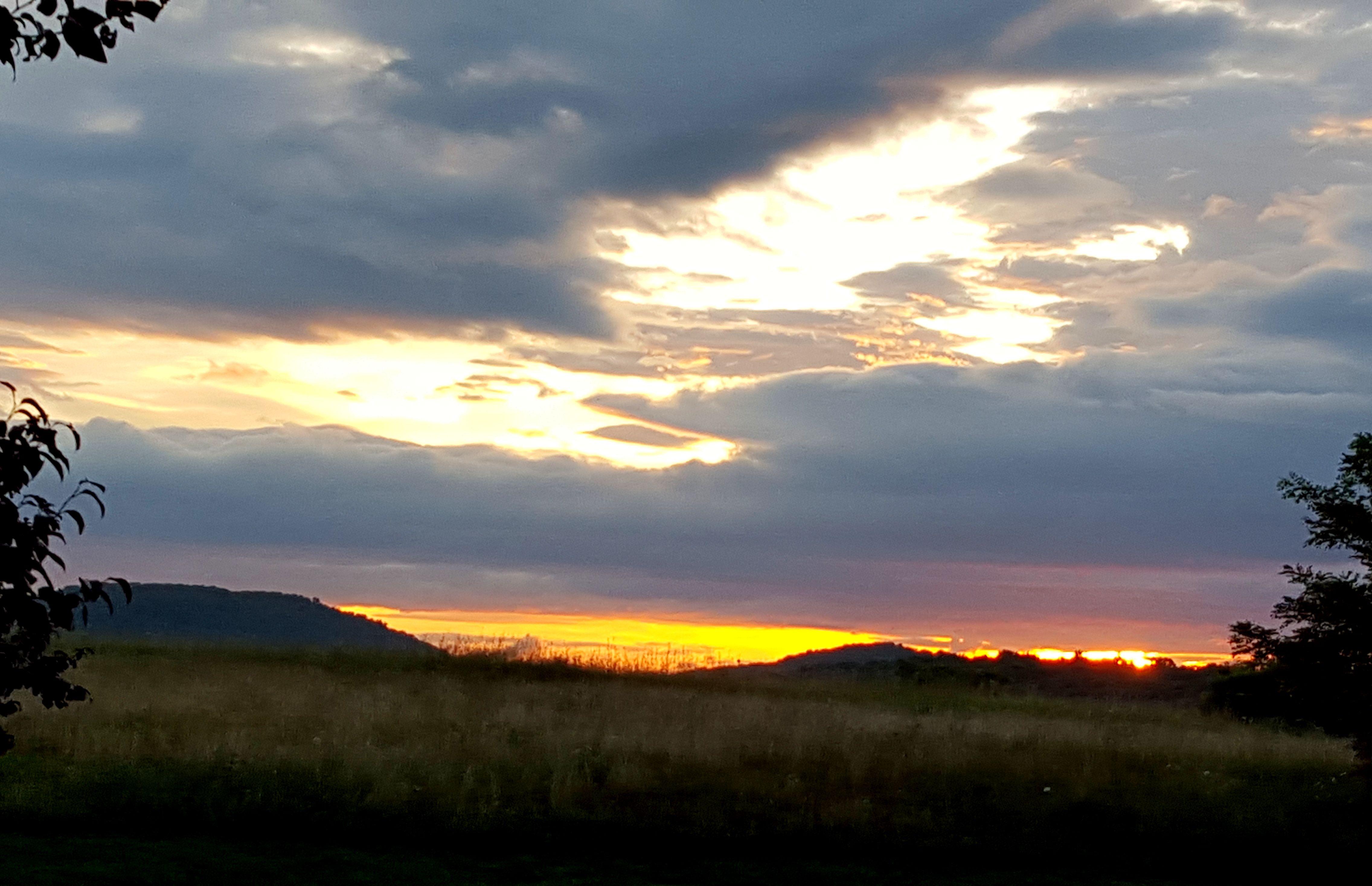 Sunrise at Spring Lakes, Staunton, VA