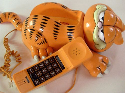 Garfield Phone, my son had one of these....