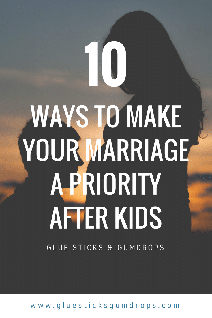 Make your marriage a priority recommend