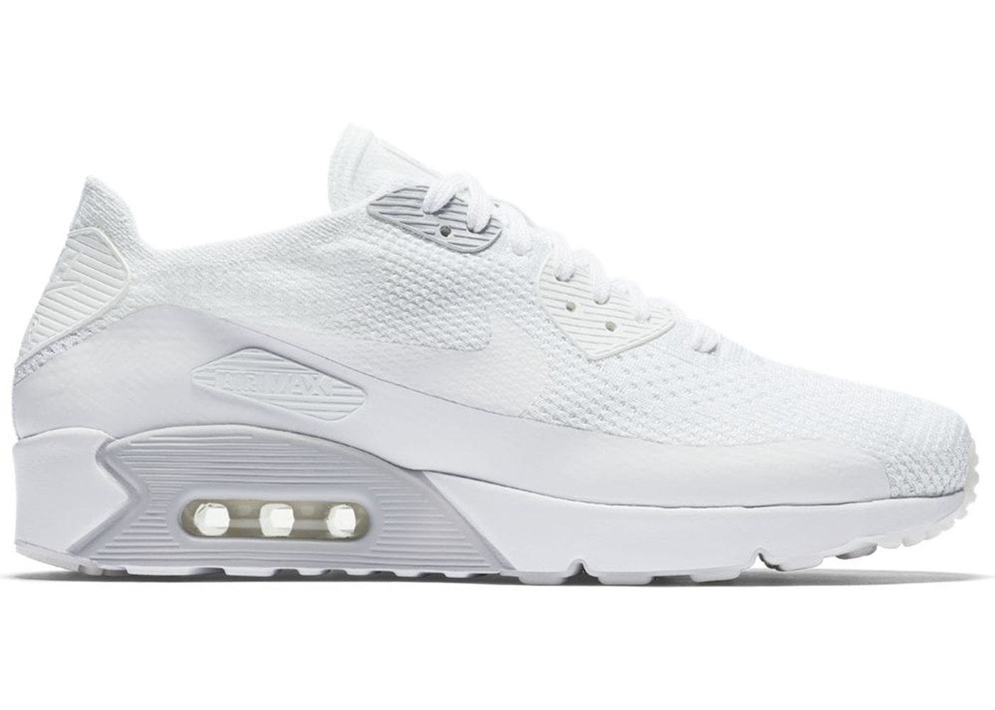 buy popular 721b3 bd643 Check out the Air Max 90 Ultra 2.0 Flyknit White available on StockX