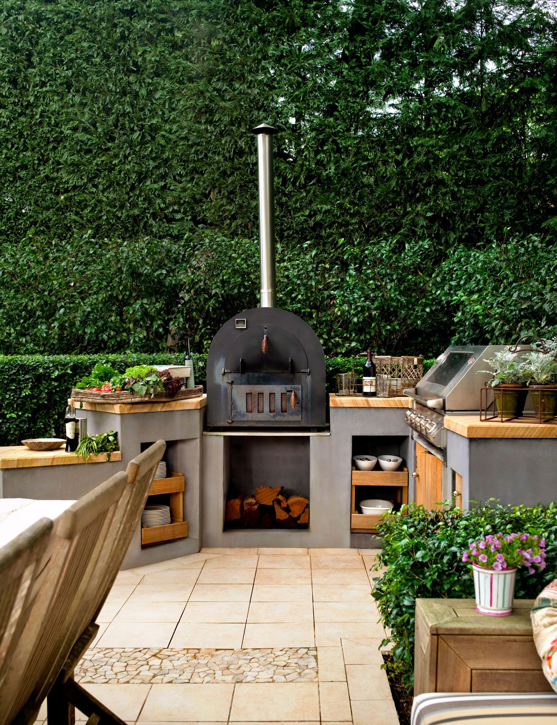 how to create your own outdoor kitchen outdoor kitchen pinterest