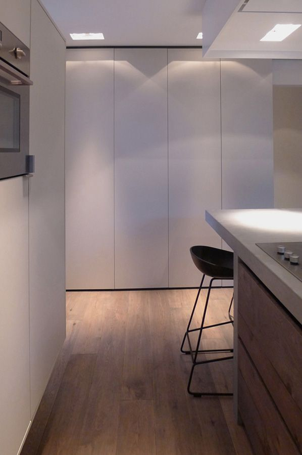 Ontwerp: Indelingsplan, keuken, haard, Sittard - Interieur ...
