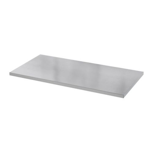 Ikea Vika Hyttan Table Top Stainless Steel 149 00 Product Dimensions Length 59 Width 29 1 2 Create A With Personal Touch Legs