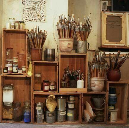 » bohemia » art studio » painter » sculptor » designer