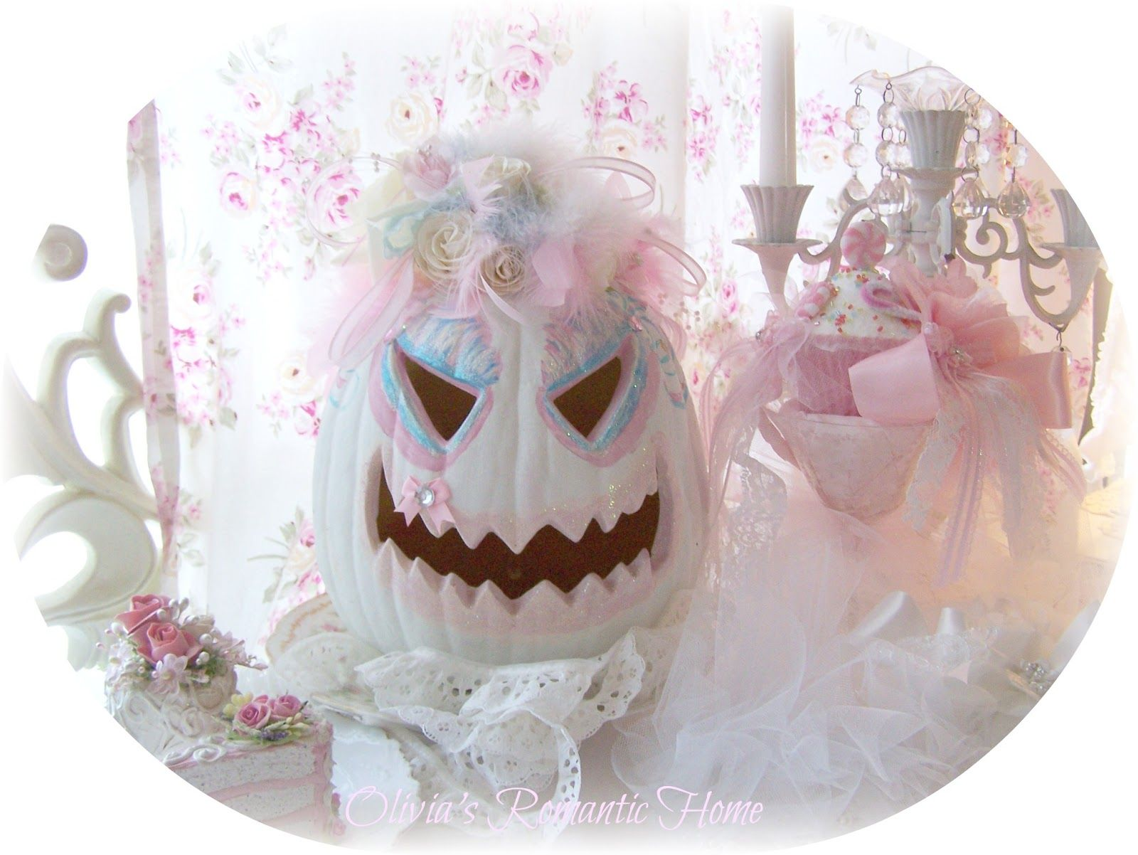 shabby chic halloween decorations couple of years ago and i bring them